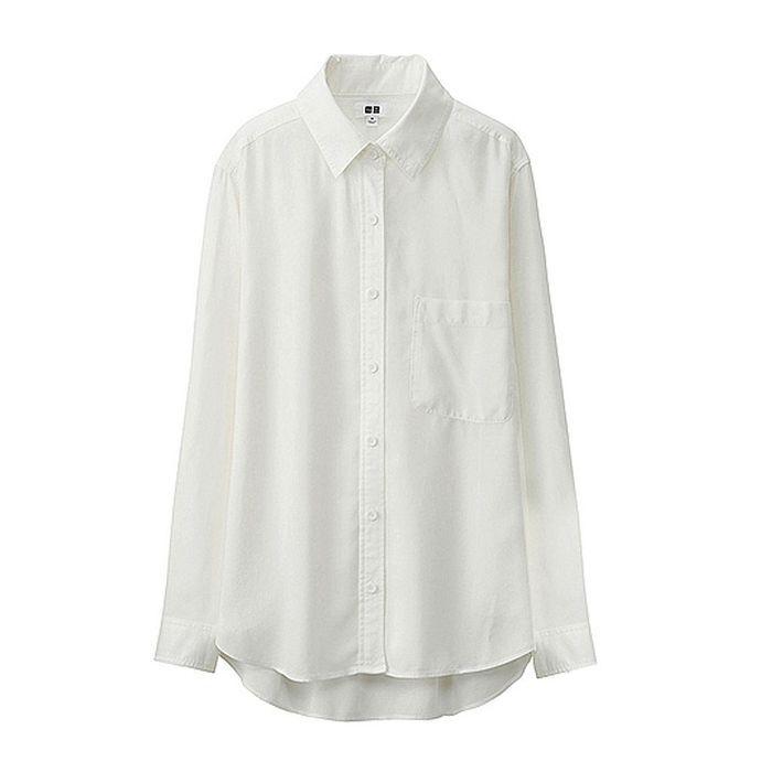 chemise blanche uniqlo avoir une belle chemise blanche. Black Bedroom Furniture Sets. Home Design Ideas
