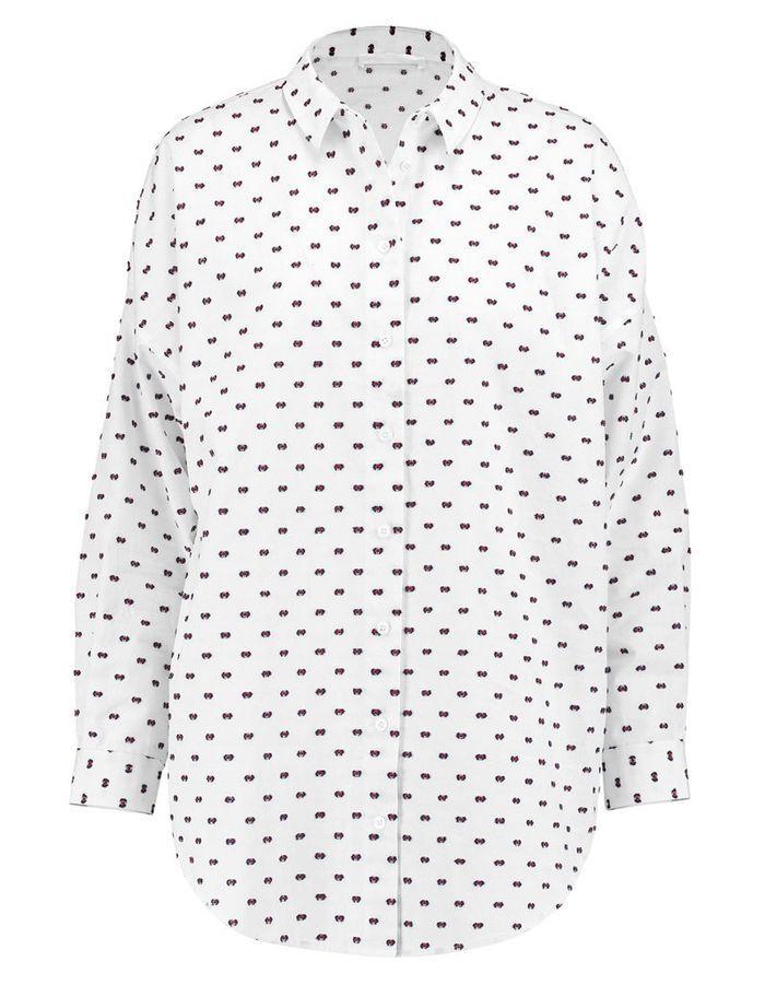 chemise femme pois 21 chemises pour passer du bureau au resto elle. Black Bedroom Furniture Sets. Home Design Ideas