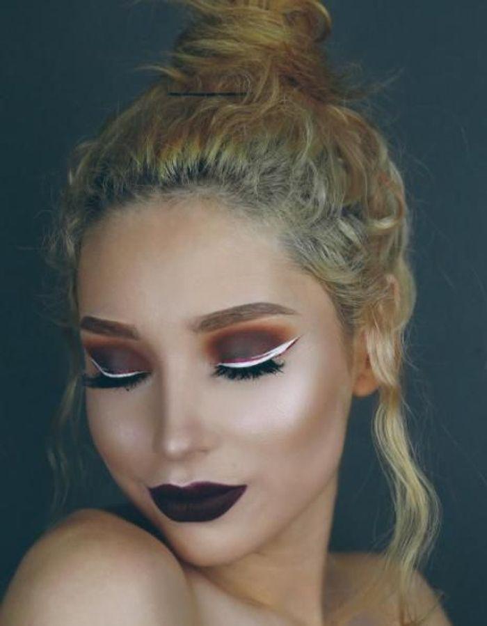 10 idées spectaculaires pour maquiller vos yeux aux couleurs de Noël