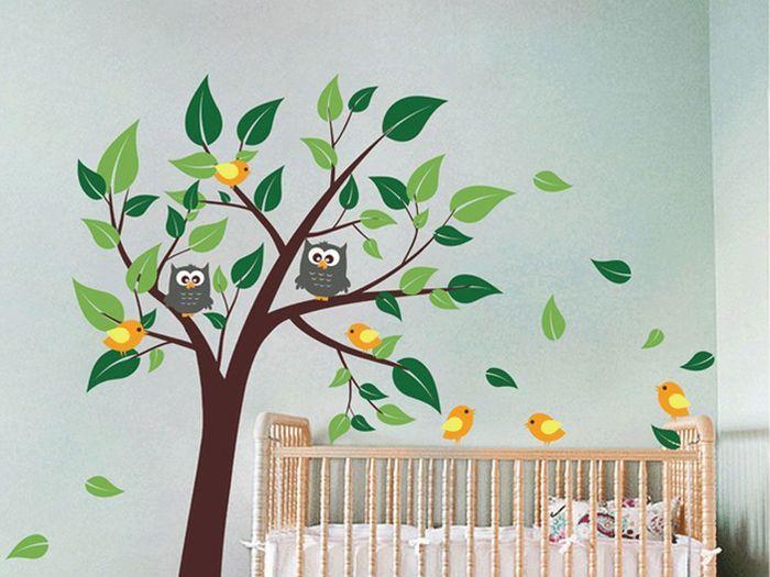 sticker mural pour chambre d enfant 25 cadeaux faits main et vraiment cool d nich s sur le. Black Bedroom Furniture Sets. Home Design Ideas