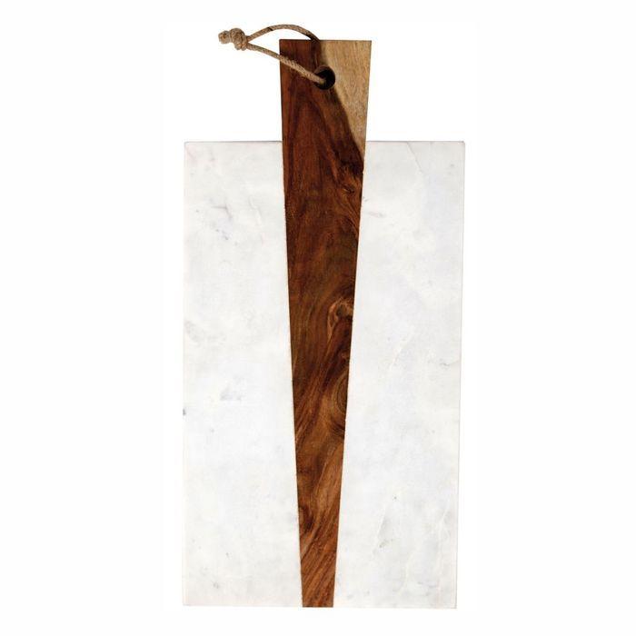une planche en bois et marbre no l plus de 100 cadeaux design elle. Black Bedroom Furniture Sets. Home Design Ideas