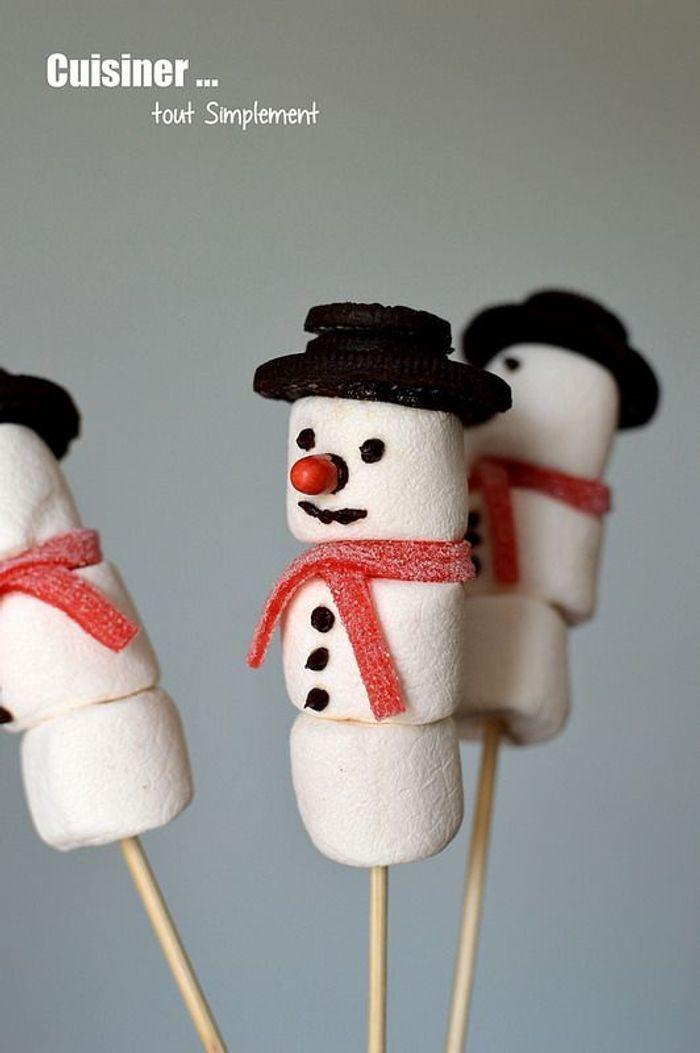 Sucette bonhomme de neige no l 20 id es bluffantes pour les nuls elle - Pinterest bonhomme de neige ...