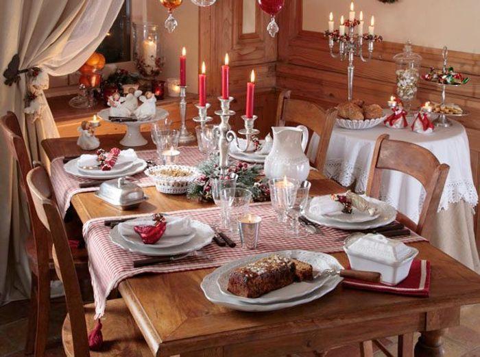 40 jolies tables de f te elle - Table maison de famille ...