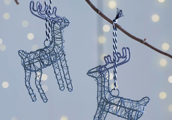 Boule de Noël en forme de renne