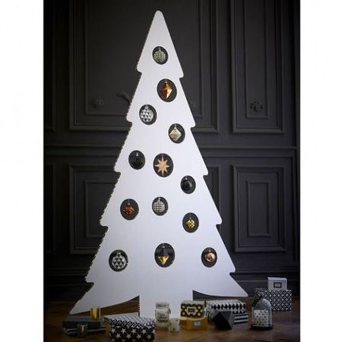 Un faux sapin de no l design les 40 sapins de no l qu on copie elle - Sapin de noel bois design ...