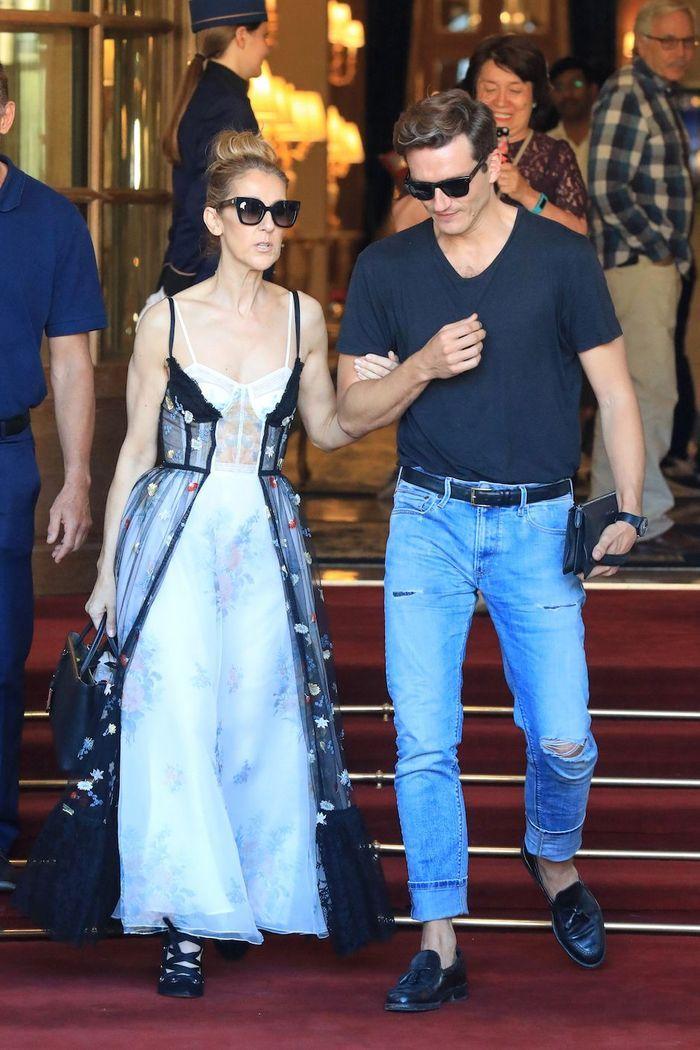 Céline Dion et son danseur