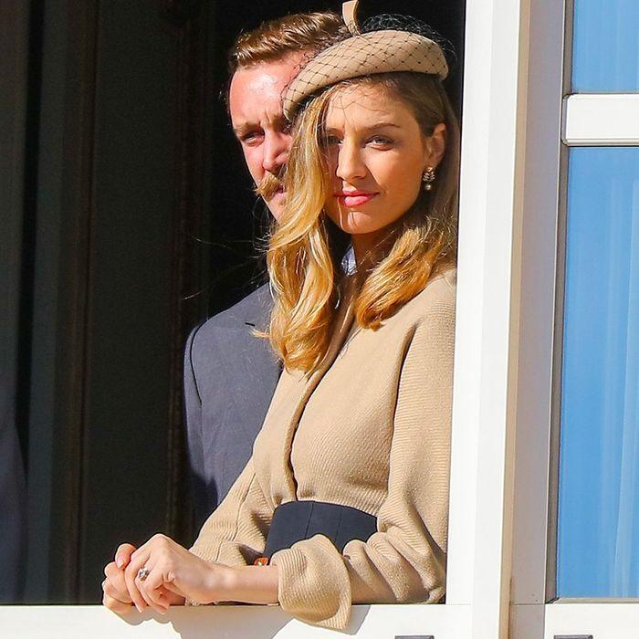 Pierre Casiraghi et sa femme Beatrice