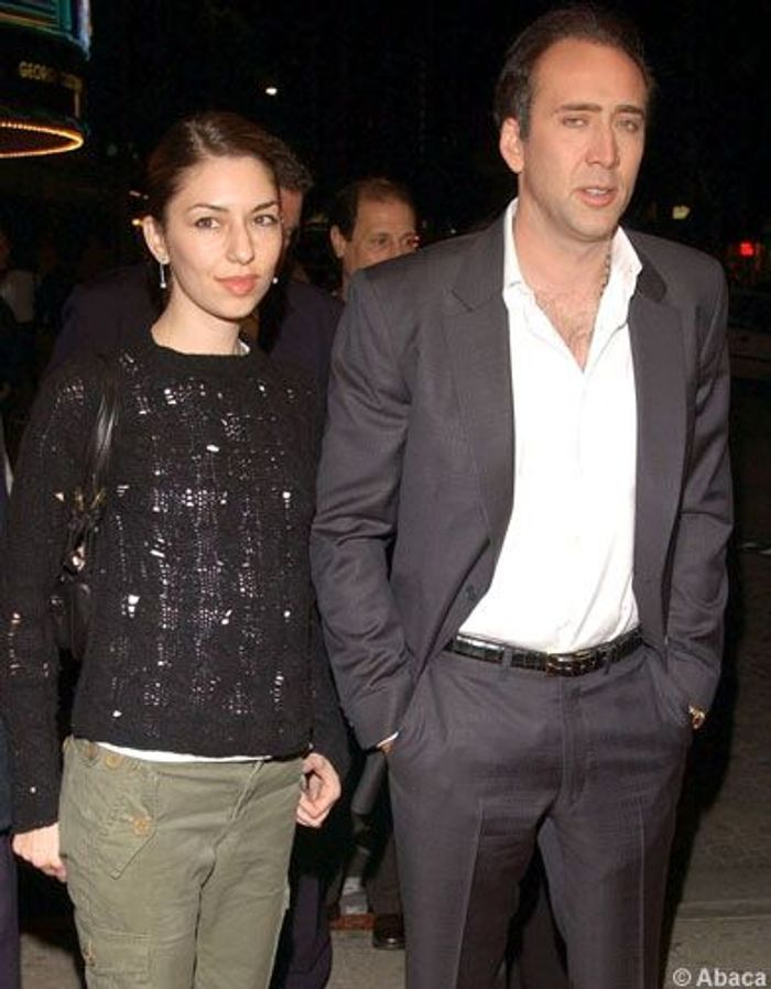 nicolas cage le monde de sofia coppola elle. Black Bedroom Furniture Sets. Home Design Ideas