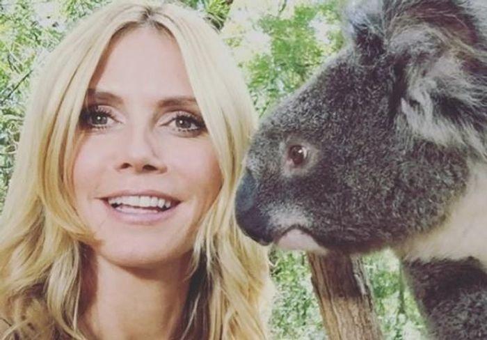 Les Instagram de la semaine: l'Australie de Heidi Klum!