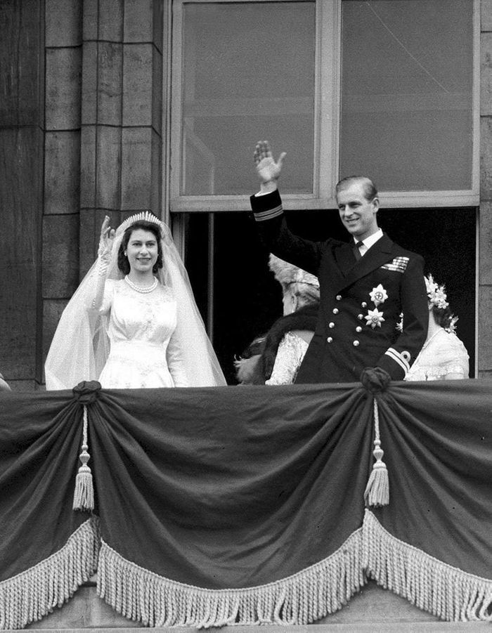 Le mariage de la princesse Elizabeth et Philip Mountbaten