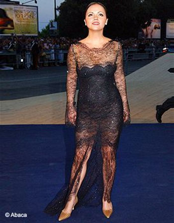 Photos Robe Transparen... Christina Ricci