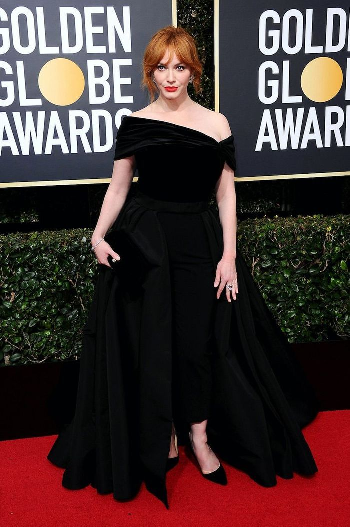 Christina Hendricks en Christian Siriano