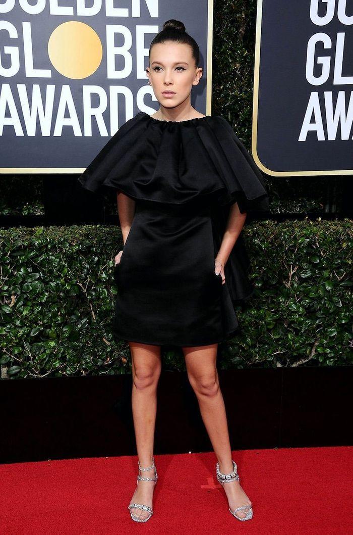 Millie Bobbie Brown en Calvin Klein