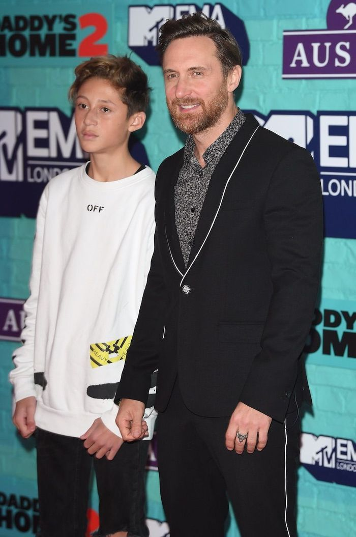 David Guetta et son fils Tim Elvis
