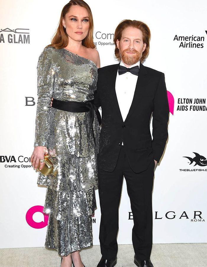 Clare Grant et Seth Green
