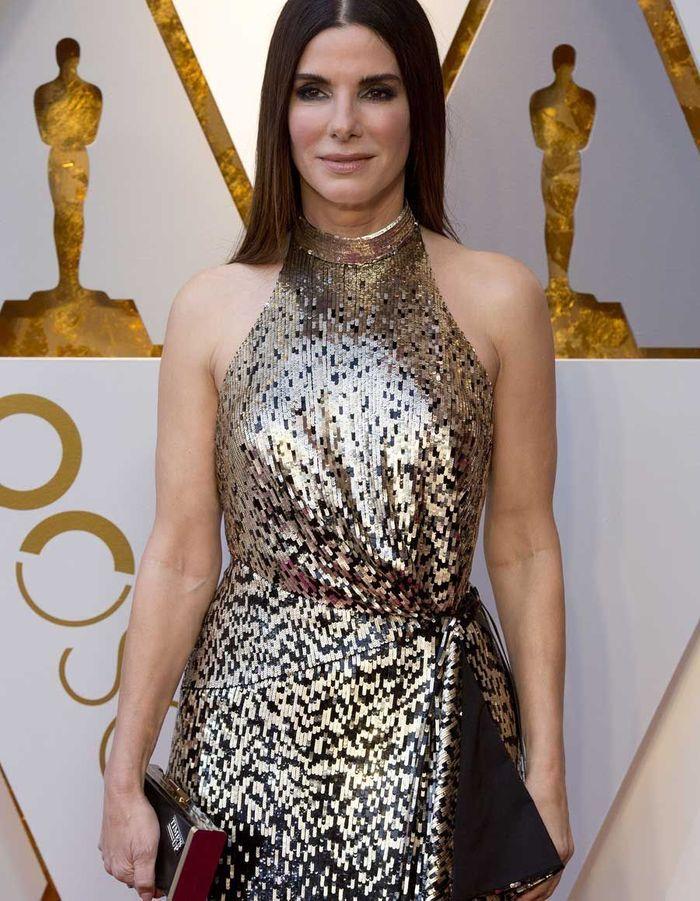Sandra Bullock en Louis Vuitton