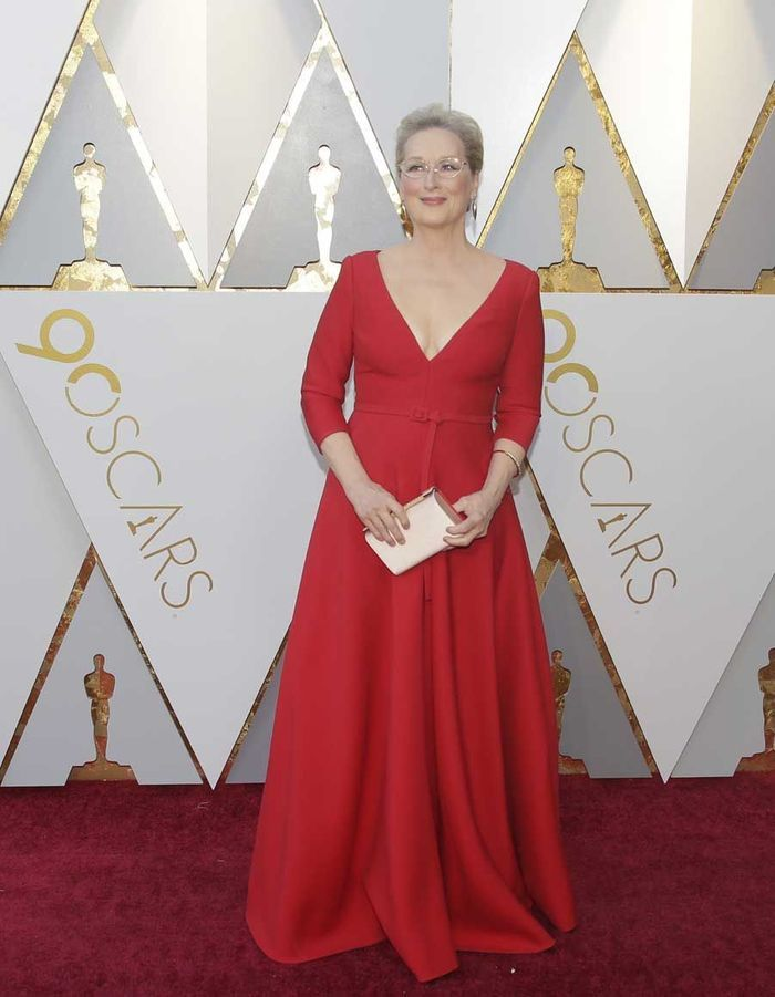 Meryl Streep en Dior Couture