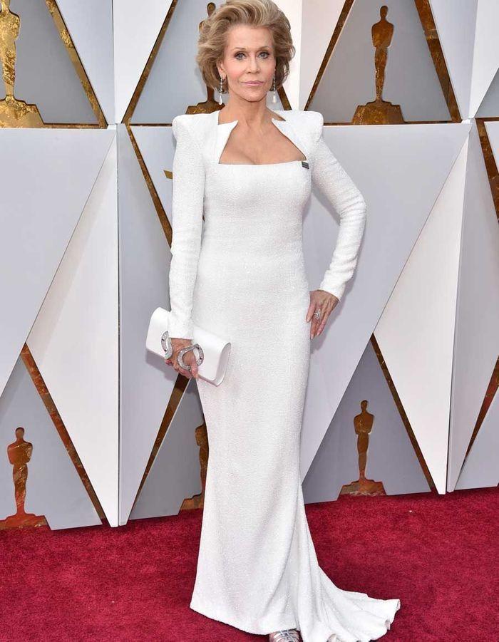 Jane Fonda en Balmain