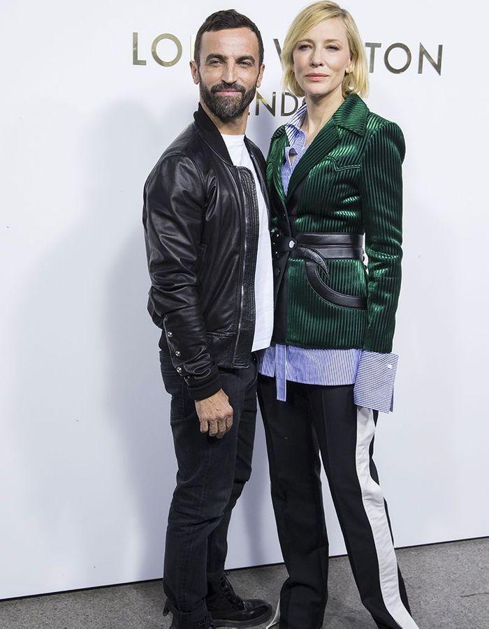 Nicolas Ghesquière et Cate Blanchett