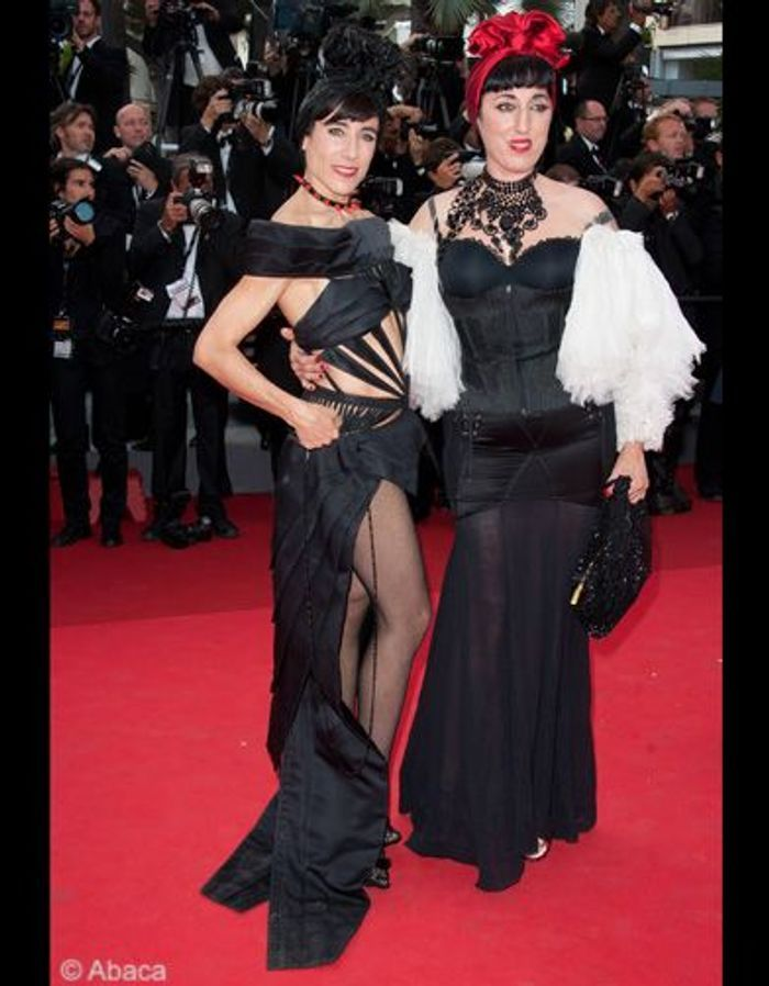 rossy de palma tahar rahim beau gosse sur les marches de cannes elle. Black Bedroom Furniture Sets. Home Design Ideas