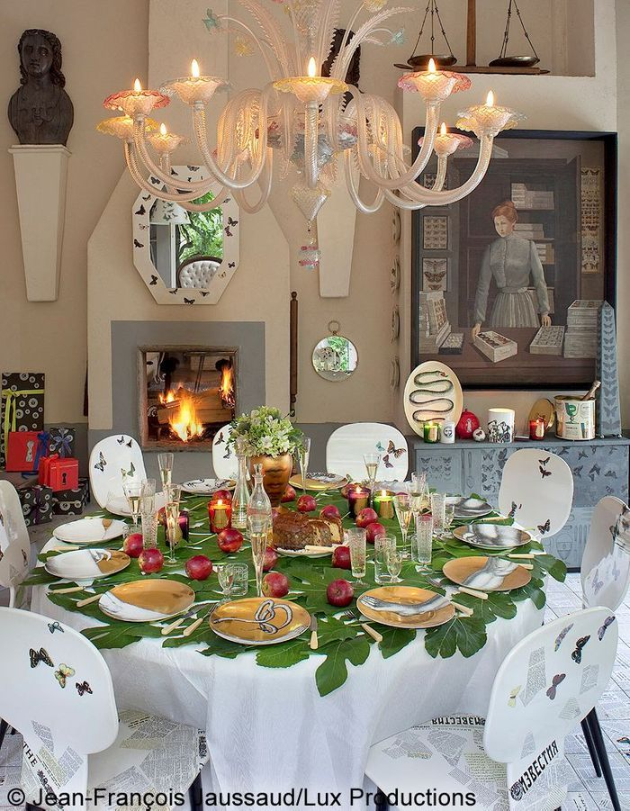 La table de no l de barnaba fornasetti no l 5 tables - La table de noel ...