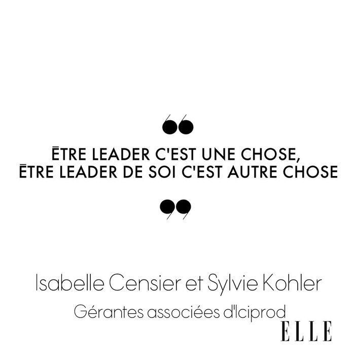 Isabelle Censier et Sylvie Kohler, gérantes associées d'Iciprod