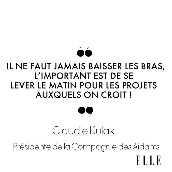 Claudie Kulak, Présidente de la Compagnie des Aidants