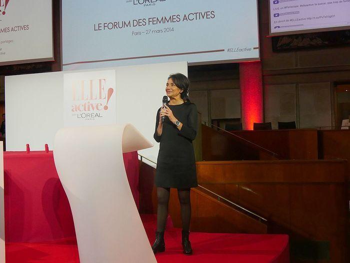 Constance Benqué,  CEO ELLE France et International