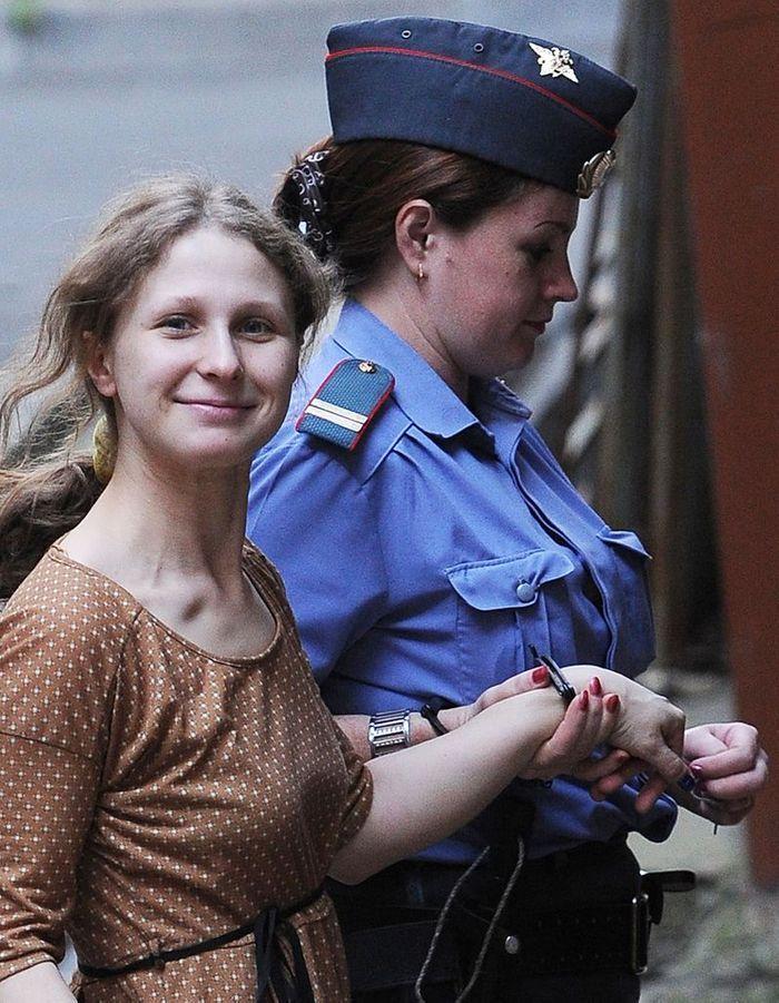 Le procès en appel de Maria Alekhina des Pussy Riot