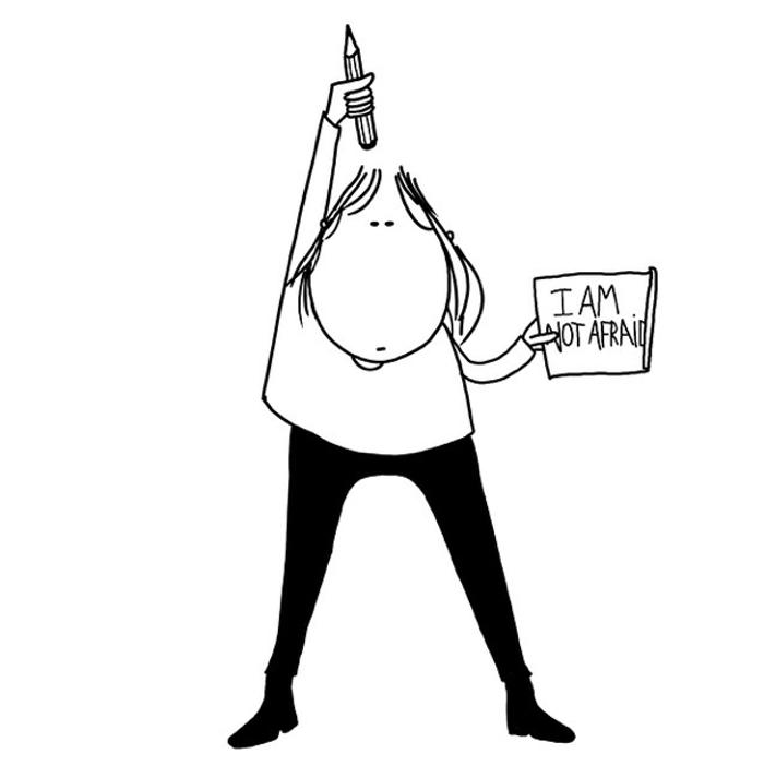 Charlie Hebdo: les illustrateurs du monde entier rendent hommage au journal