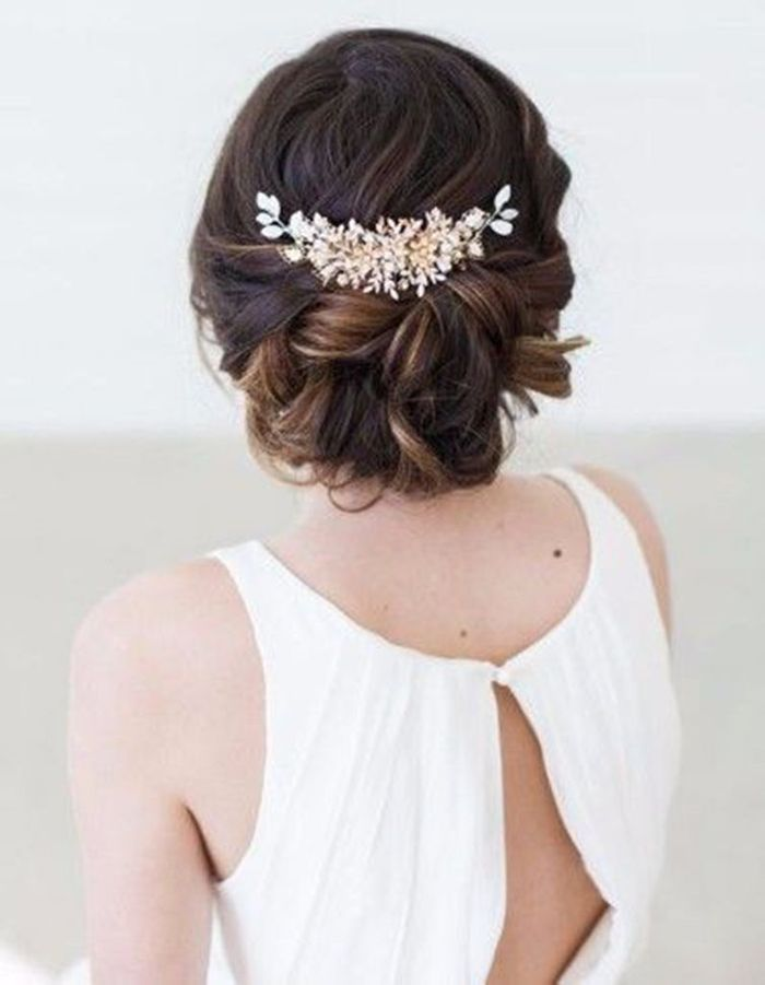Coiffure demoiselle du0026#39;honneur mariage - 15 coiffures de demoiselle du2019honneur canons pour faire ...