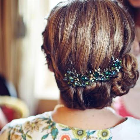 Coiffure Mariage Cheveux Mi-longs - 40 Coiffures De Mariage Rock Ou Sages - Elle