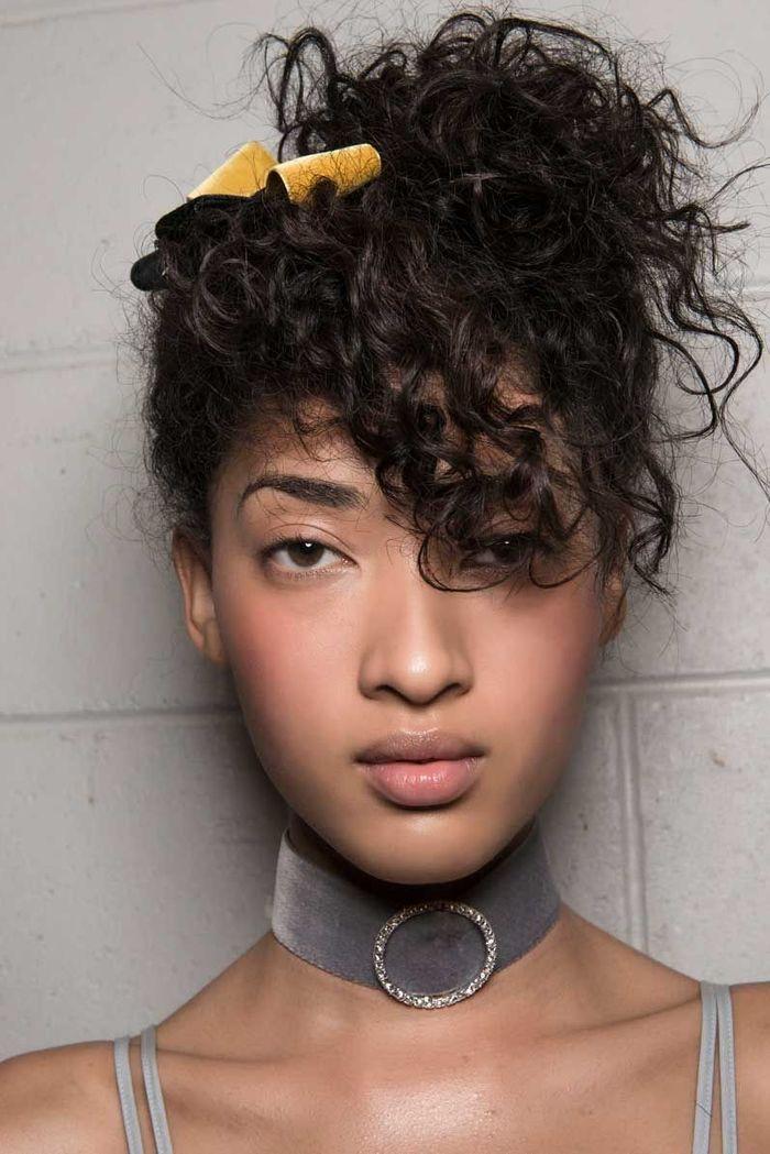 Des idu00e9es de coiffures faciles - Elle