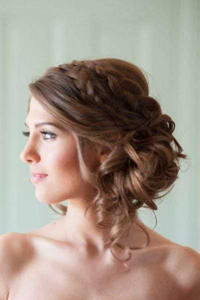 Coiffure carre boucle mariage