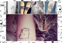 Tatouage chat : les 20 plus jolies inspirations Pinterest