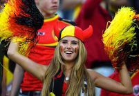 La belle supportrice belge, future égérie beauté ?