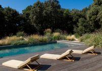 les piscines de r ve de notre t sur pinterest elle d coration. Black Bedroom Furniture Sets. Home Design Ideas