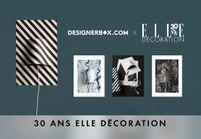 Designer Box x ELLE Décoration : Poster Lamp, l'objet déco qu'il vous faut