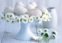 Décoration de Pâques : des idées originales avec des œufs !