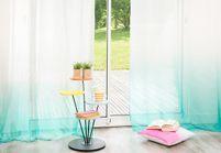 L'inspiration déco : les rideaux tie and dye