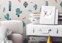L'objet déco du jour : du papier peint décalé pour les enfants