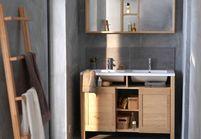 Tendance les salles de bains l 39 ancienne elle d coration for Meuble salle de bain smith