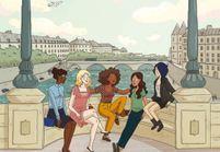 Rokhaya Diallo publie « Pari(s) d'amies », une BD haute en couleur !