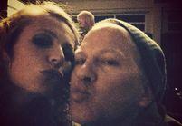 Gwyneth Paltrow et Lea Michele postent des photos de « Glee »