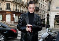 Bella Hadid nous montre comment porter le total look cuir