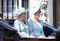 Pourquoi Camilla Parker Bowles et Kate Middleton portaient la même couleur à l'anniversaire de la reine ?