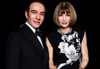 British Fashion Awards : un John Galliano très ému récompense Anna Wintour