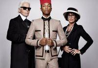 Reincarnation : découvrez le film de Karl Lagerfeld avec Pharrell Williams