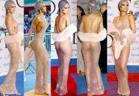 Les dessous de la robe transparente de Rihanna aux CFDA