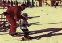 Jamel Debbouze fier de skier avec son fils